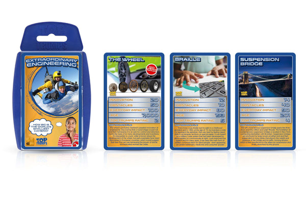 Extraordinary Engineering Top Trumps - Top Trumps USA