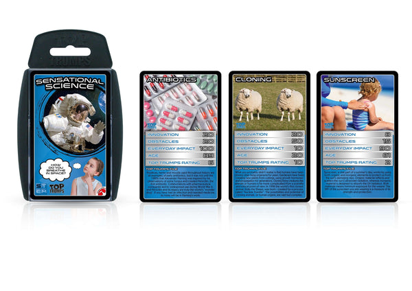 Sensational Science Top Trumps