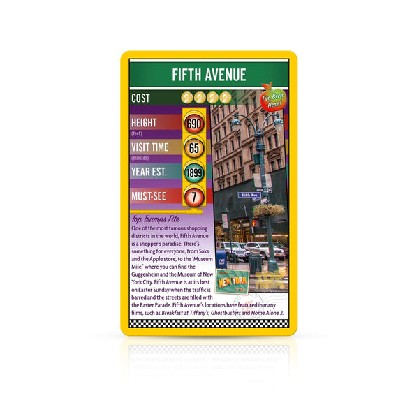 New York City Top Trumps - Top Trumps USA
