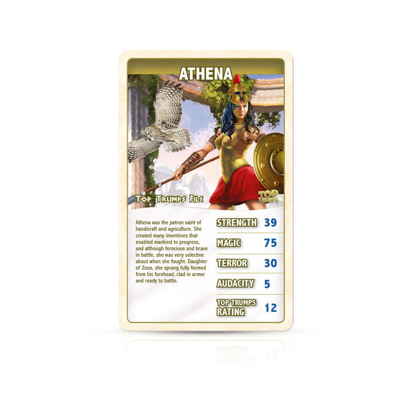 Greek Mythology Top Trumps