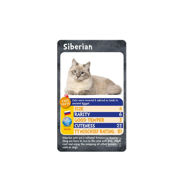 Cats Top Trumps - Top Trumps USA