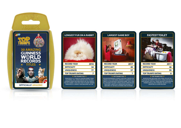 Guinness World Records Top Trumps - Top Trumps USA
