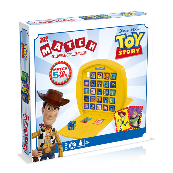 Toy Story Top Trumps Match Board Game - Top Trumps USA