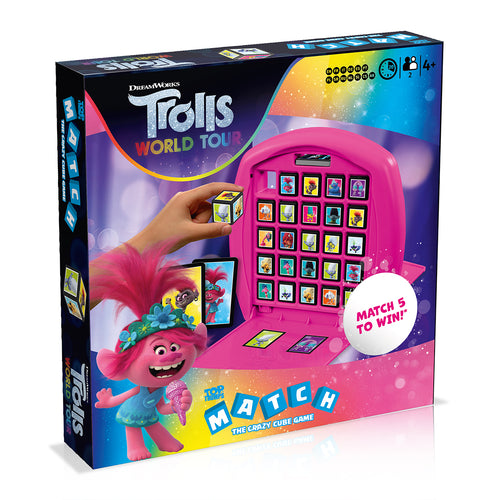 Trolls 2 Top Trumps Match Board Game