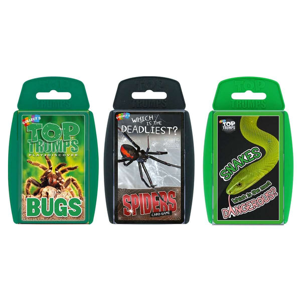Creepy Crawlies Top Trumps Bundle - Top Trumps USA