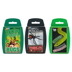 Creepy Crawlies Top Trumps Bundle Card Game