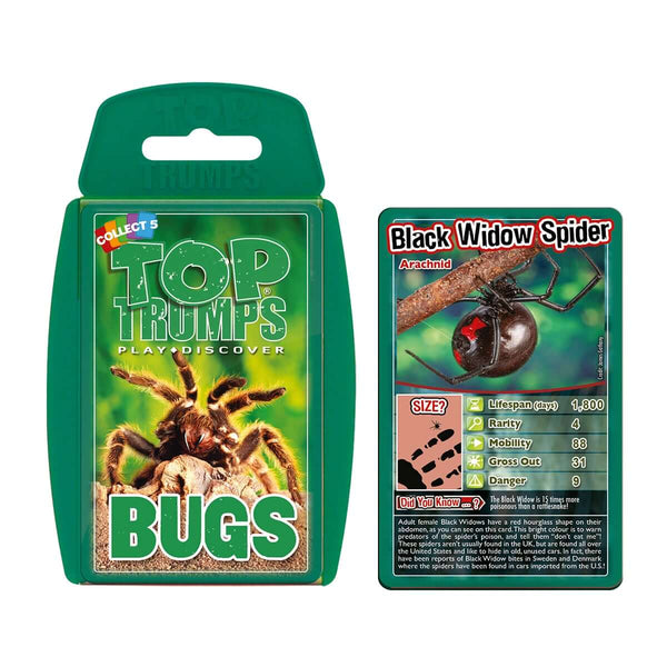 Creepy Crawlies Top Trumps Bundle Card Game - Top Trumps USA