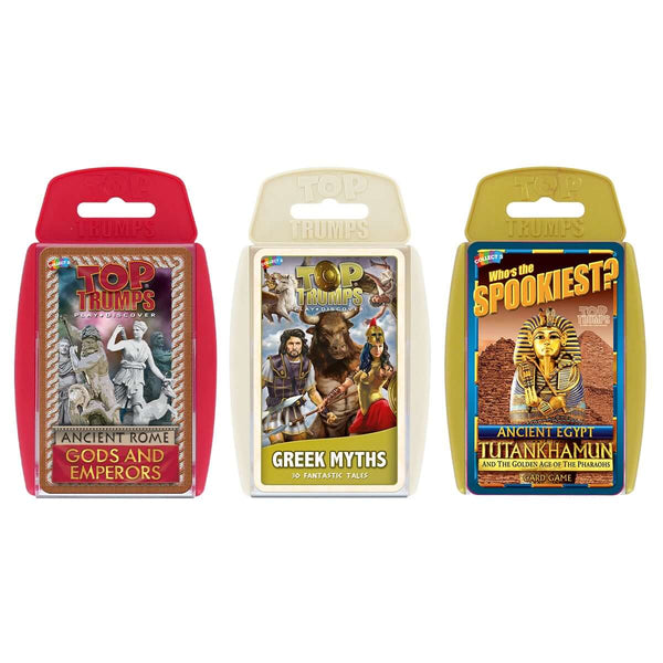 Ancient Civilizations Top Trumps Bundle - Top Trumps USA