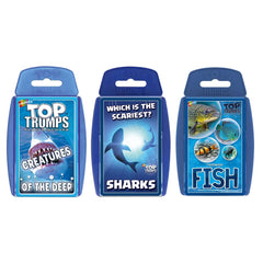 Sea Life Top Trumps Bundle