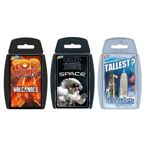 Earth and Space Top Trumps Bundle - Top Trumps USA