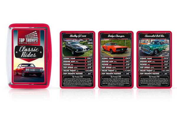 Classic Rides Top Trumps Card Game - Top Trumps USA