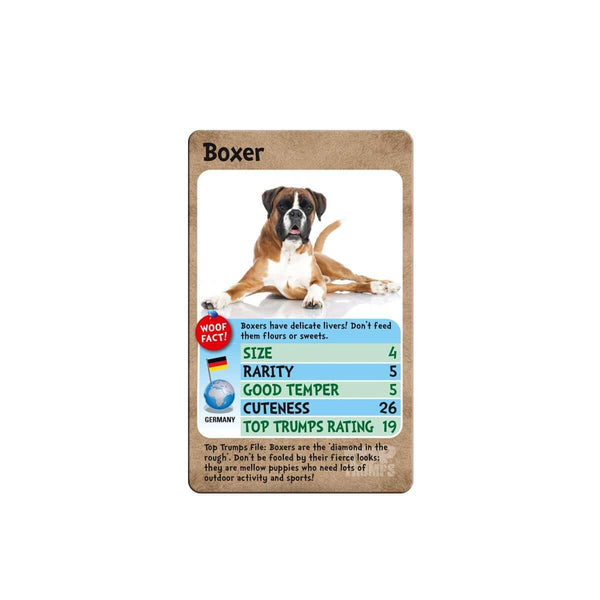 Dogs Top Trumps Card Game - Top Trumps USA