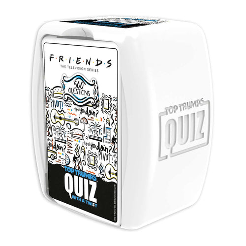 Friends Top Trumps Quiz Game