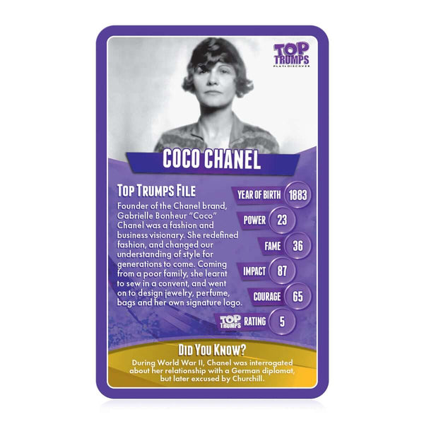 Great Women Top Trumps - Top Trumps USA