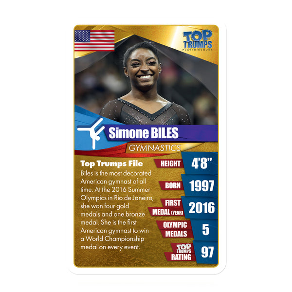 Top Women Athletes Top Trumps - Top Trumps USA