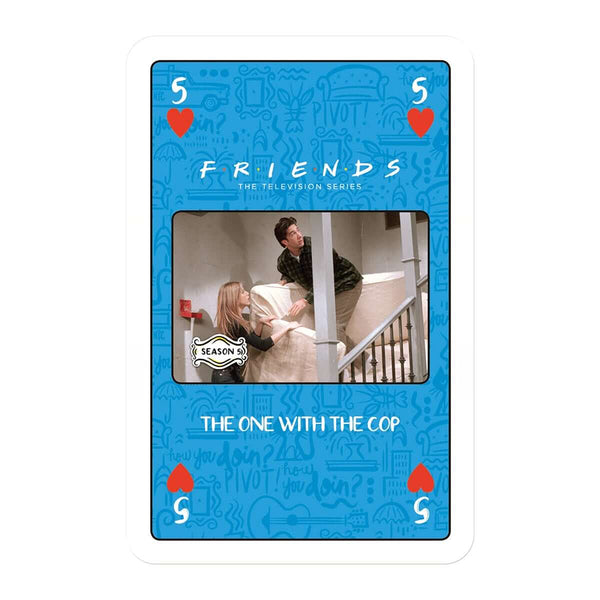 Friends Waddingtons Number 1 Playing Card Game - Top Trumps USA