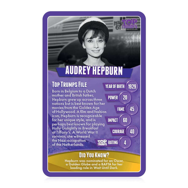 Great Women Top Trumps Card Game - Top Trumps USA