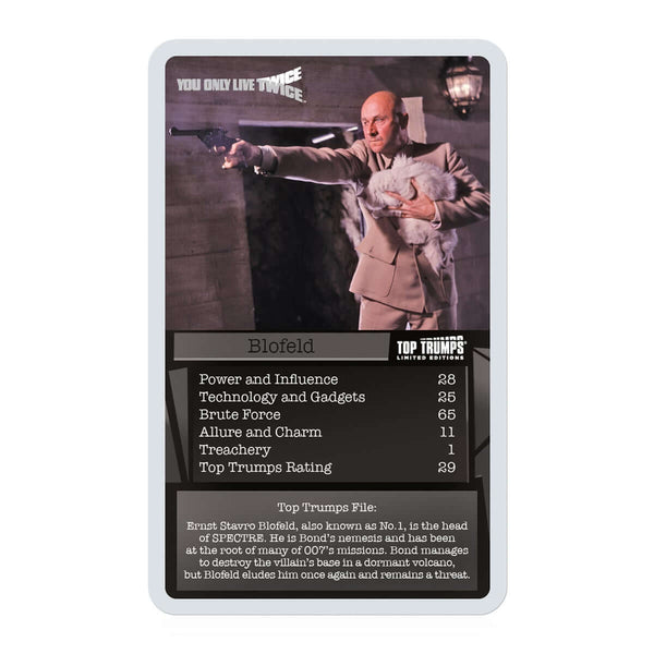 James Bond 007 Top Trumps - Top Trumps USA