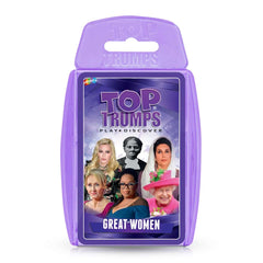 Great Women Top Trumps Card Game