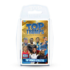 Top Women Athletes Top Trumps Card Game