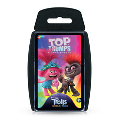 Trolls World Tour Top Trumps Card Game