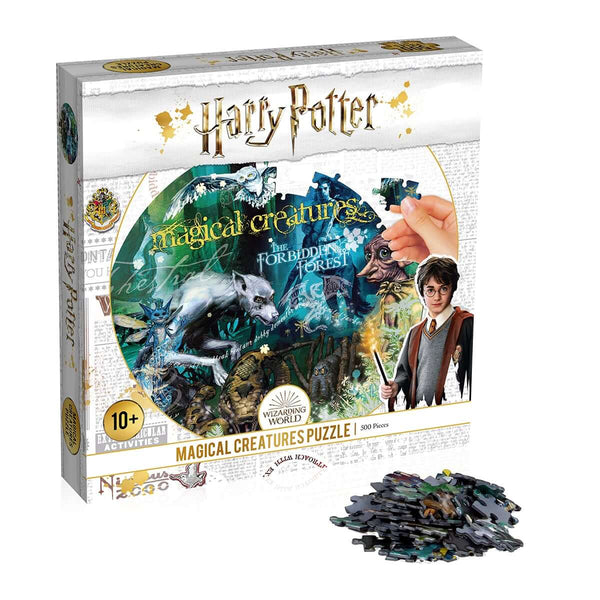 Harry Potter Magical Creatures 500 Piece Jigsaw Puzzle - Top Trumps USA