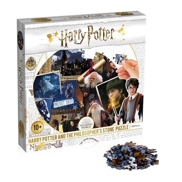 Harry Potter Philosopher's Stone 500 Piece Jigsaw Puzzle - Top Trumps USA