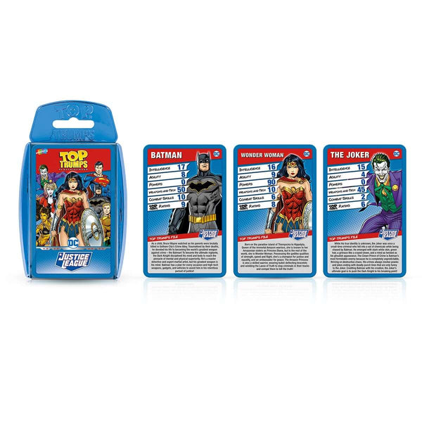 Justice League Top Trumps Card Game - Top Trumps USA