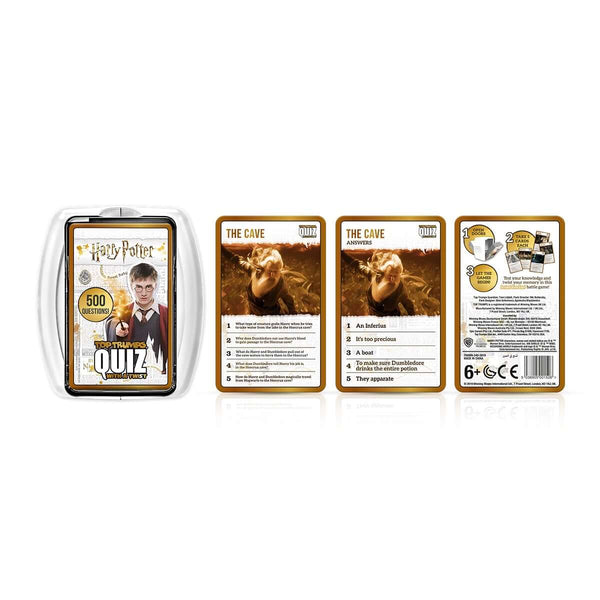 Harry Potter Famous Witches and Wizards Top Trumps Bundle - Top Trumps USA