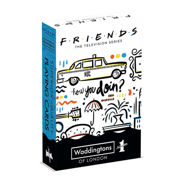 Friends Waddingtons No.1 Playing Cards - Top Trumps USA