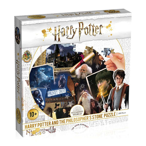 Harry Potter Philosopher's Stone 500 Piece Jigsaw Puzzle