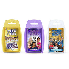 Incredible Women Top Trumps Card Game Bundle