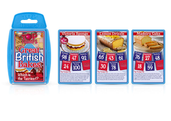 The Great British Bakes Top Trumps - Top Trumps USA