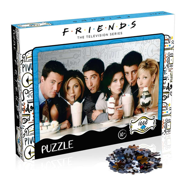 Friends Milkshake 1000 Piece Jigsaw Puzzle - Top Trumps USA