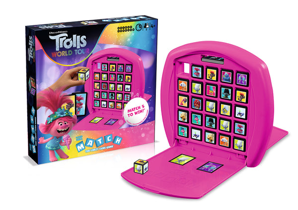 Trolls 2 Top Trumps Match Board Game - Top Trumps USA