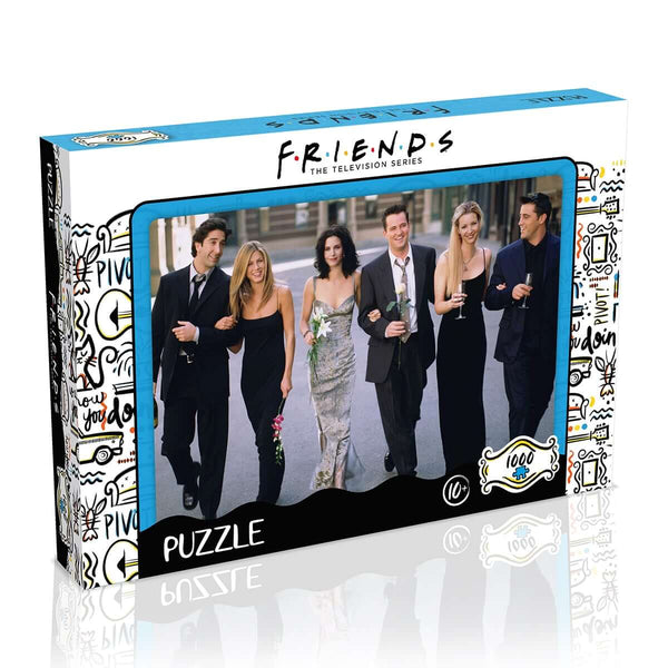 Friends Banquet 1000 Piece Jigsaw Puzzle - Top Trumps USA