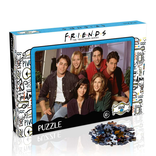 Friends Apartment 1000 Piece Jigsaw Puzzle - Top Trumps USA