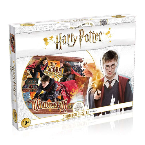 Harry Potter Quidditch 1000 Piece Jigsaw Puzzle