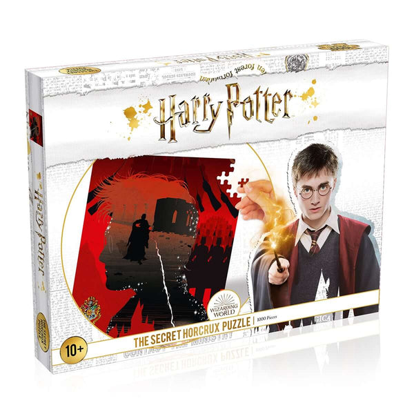 Harry Potter Secret Horcrux 1000 Piece Jigsaw Puzzle - Top Trumps USA
