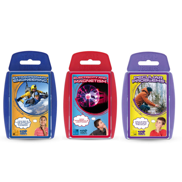STEM: Engineering, Electricity & Magnets Top Trumps Bundle - Top Trumps USA