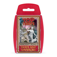 Ancient Rome Gods & Emperors Top Trumps Card Game