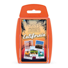 California Top Trumps Card Game