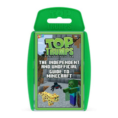 Independent & Unofficial Top Trumps Guide to Minecraft Card Game