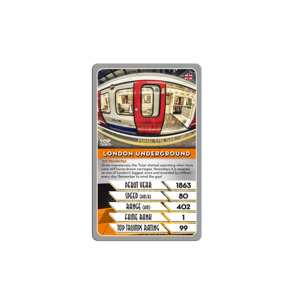 Trains Top Trumps - Top Trumps USA