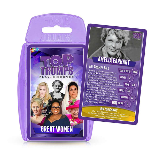 Incredible Women Top Trumps Card Game Bundle - Top Trumps USA
