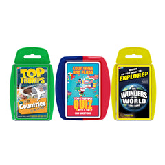 World Quiz Night Top Trumps Bundle Card Game