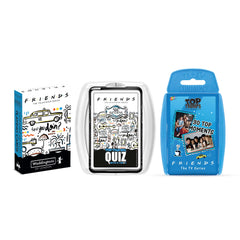 Friends The One With Three Games Top Trumps Bundle Card Game