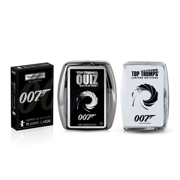 James Bond Licence to Win Bundle Game - Top Trumps USA