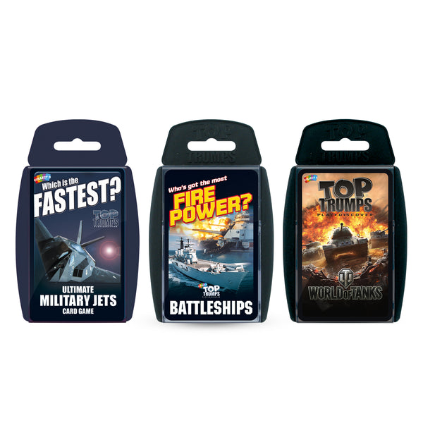 Ultimate Military Top Trumps Bundle Card Game - Top Trumps USA