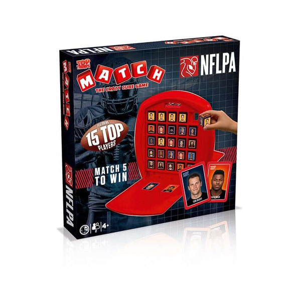 NFL PA Top Trumps Match Board Game - Top Trumps USA